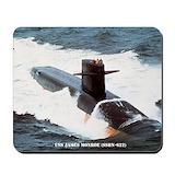 U.s navy james monroe Classic Mousepad