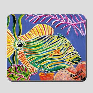Tile Trigger fish Mousepad
