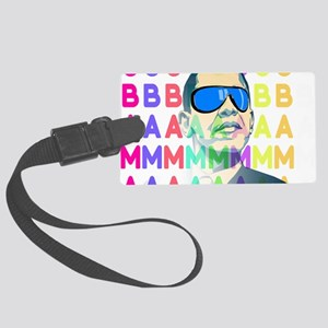 Barack Obama Shirts - less swag Large Luggage Tag