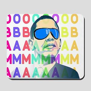 Barack Obama Shirts - less swag Mousepad