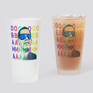 Barack Obama Shirts - less swag Drinking Glass