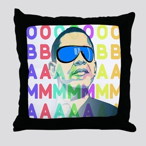 Barack Obama Shirts - less swag Throw Pillow