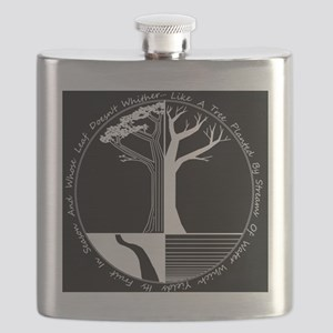 Living Tree Black Flask