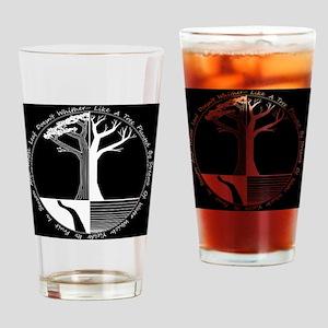 Living Tree Black Drinking Glass