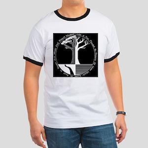 Living Tree Black Ringer T