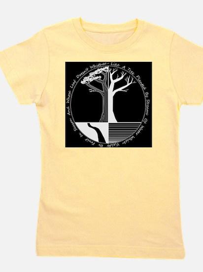 Living Tree Black Girl's Tee