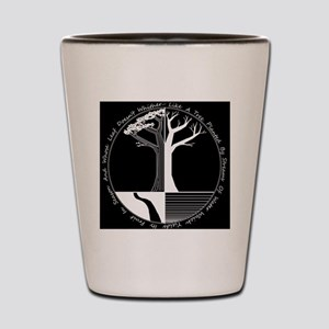 Living Tree Black Shot Glass
