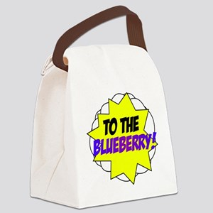 blueberry Canvas Lunch Bag