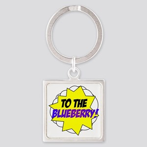 blueberry Square Keychain