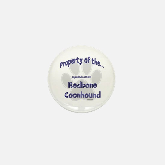 Coonhound Property Mini Button