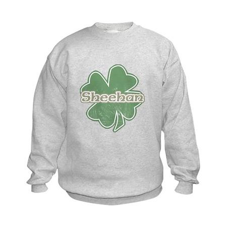 """""""Shamrock - Sheehan"""" Kids Sweatshirt"""