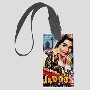 gr_art_of_bollywood_04 Large Luggage Tag