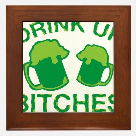 drink upo 2 Framed Tile