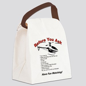 beforeyouask Canvas Lunch Bag