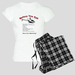 beforeyouask Women's Light Pajamas