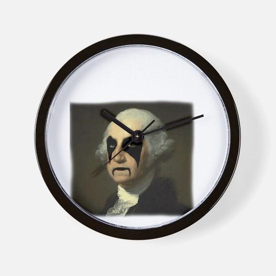 WASHINGTON GOLD Wall Clock