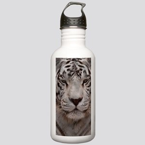 (6) White Tiger 4 Stainless Water Bottle 1.0L
