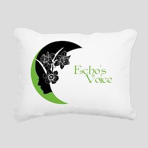 ev_oval Rectangular Canvas Pillow