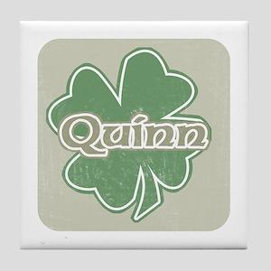 """""""Shamrock - Quinn"""" Tile Coaster"""