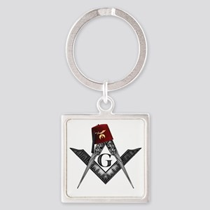 Shrine fez roots Square Keychain