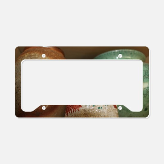 ACCEPTANCE_COURAGE_WISDOM License Plate Holder