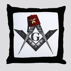 Shrine fez roots Throw Pillow