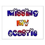Missing my Coastie Small Poster