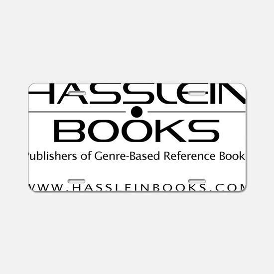 Hasslein Logo(k) (2line_inf Aluminum License Plate