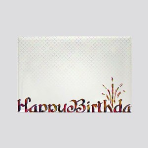 birthdayttbm3 Rectangle Magnet