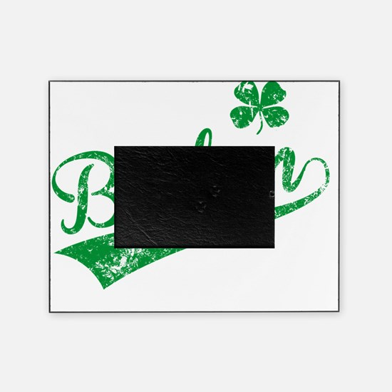 Boston D Green Picture Frame