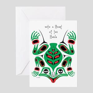 frog2 Greeting Card