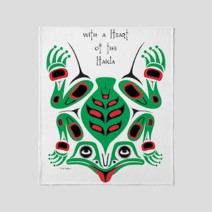 frog2 Throw Blanket