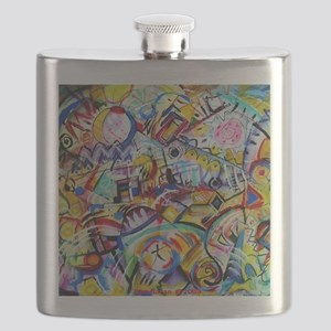 Long Brattle Story Flask