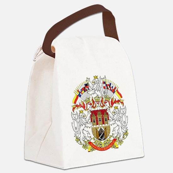 2000px-Praha_CoA_CZ Canvas Lunch Bag