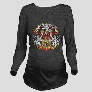2000px-Praha_CoA_CZ Long Sleeve Maternity T-Shirt