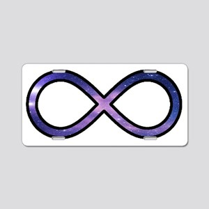 infinity-symbol Aluminum License Plate
