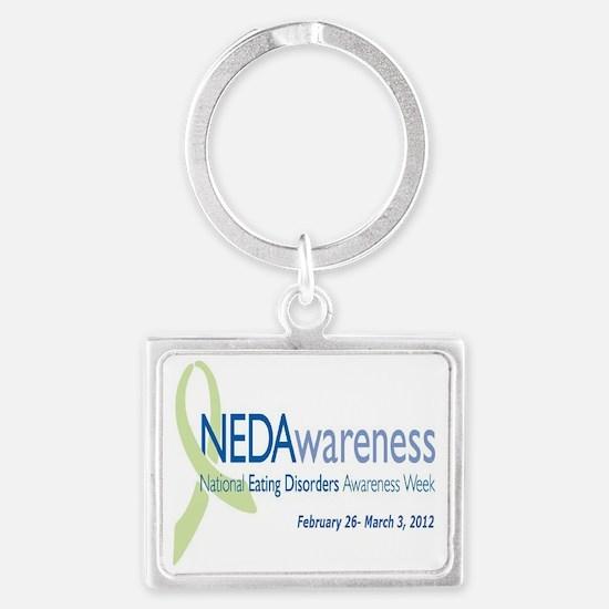 NEDA2012 Landscape Keychain