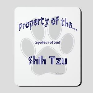 Shih Tzu Property Mousepad