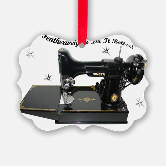 featherweight two Ornament
