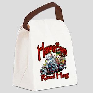 Hawaiian Road Hog shirt Canvas Lunch Bag