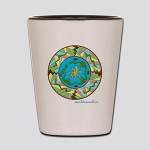 Inuit Mandala n1 Shot Glass