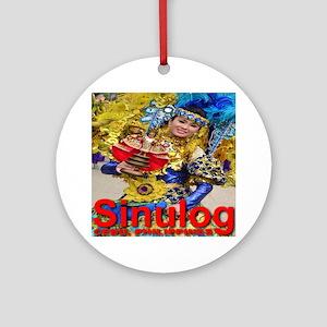 sinulog_cebu_philippines Round Ornament