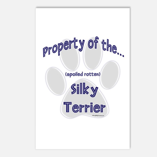 Silky Property Postcards (Package of 8)