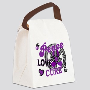 D Anorexia Peace Love Cure 2 Canvas Lunch Bag