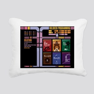 holo dixon Rectangular Canvas Pillow