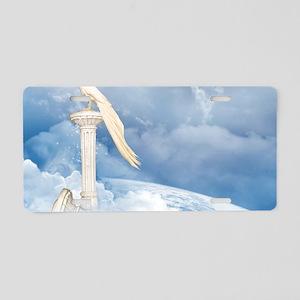 hp2_laptop_skin Aluminum License Plate