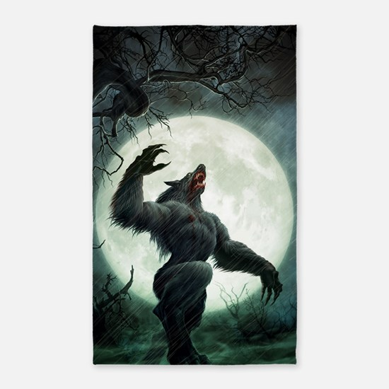 Howl-LargePoster 3'x5' Area Rug