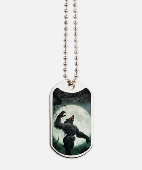 Howl-LargePoster Dog Tags
