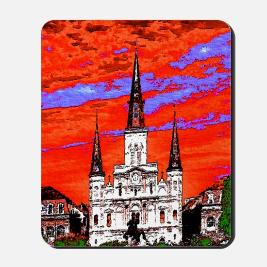 CathedralFauve1ab Mousepad