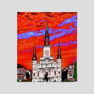 CathedralFauve1ab Throw Blanket